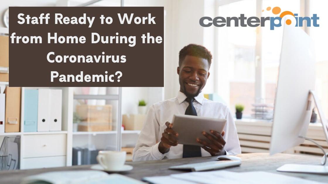 Remote Work Coronavirus Pandemic