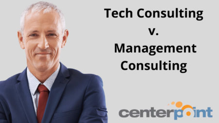 Tech Consulting v. Management Consulting